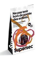 LACETS DE PULPES DE FRUITS BIO 40G - SUPER SEC