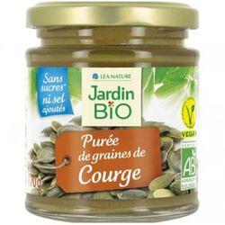 PUREE DE GRAINES DE COURGE JARDIN BIO