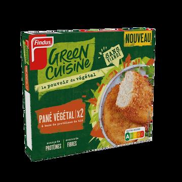 Findus Pané Végétal Green Cuisine Findus, 200g