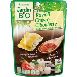 Ravioli Chèvre Ciboulette JARDIN BIO 220g