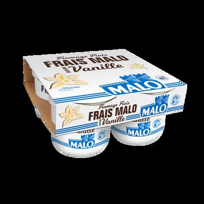 Fromage frais à la vanille MALO, 7% de MG, 4x100g