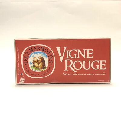 INFUSION VIGNE ROUGE MARMOTTES