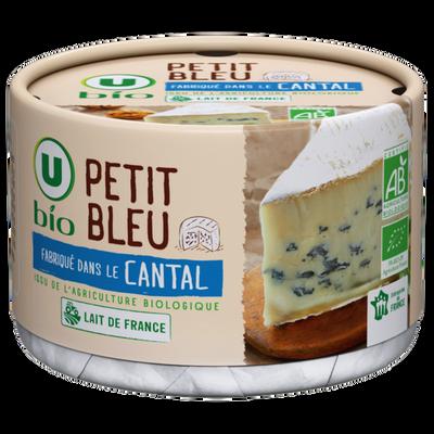 Bleu à pâte persillée au lait de vache pasteurisé U BIO? 27% de MG? 220g