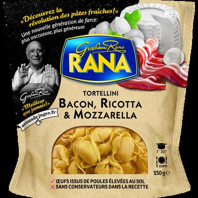 Tortellini bacon ricotta et mozzarella RANA, 250g