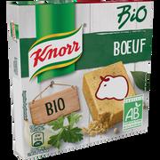 Knorr Bouillon De Boeuf Bio Knorr, 6 Tablettes Soit 60g
