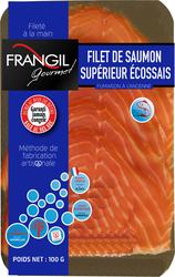 Filet saumon fumé à l'ancienne supérieur Ecosse FRANGIL GOURMET, 100g