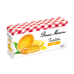 Tartelettes au citron BONNE MAMAN, x9, 125g