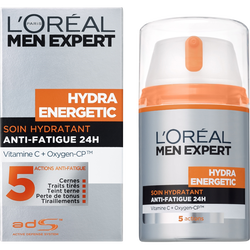 Soin hydratant anti-fatigue pour homme Hydra Energetic MEN EXPERT, 50ml