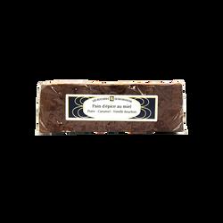 Pain d'épices poire caramel vanille tranché LES RUCHERS DE BOURGOGNE, 300g