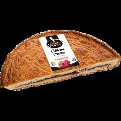 Gâteau Breton framboise, 1 pièce, 400g