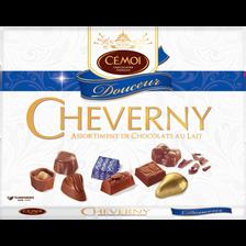 Cémoi Assortiment Chocolats Au Lait Cheverny Cemoi, Boîte De 500g