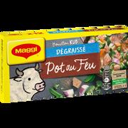 Maggi Bouillon Pot Au Feu Dégraissé Maggi, 12 Tablettes Soit 120g