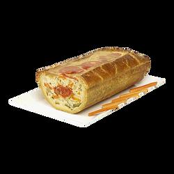 Demi mosaïque de légumes et tomates en croûte sous vide BOLARD