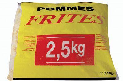 FRITES 2.5KG