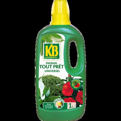 Engrais tout prêt universel KB, 1 litre