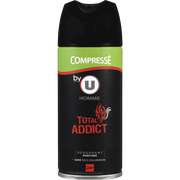Total Deodorant Compressé Hommme Total Addict By U, 100ml