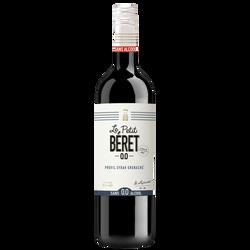 Vin rouge Syrah Grenache doux sans alcool Le Petit Beret, bouteille de75cl