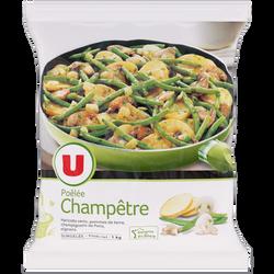 Poêlée champêtre aux légumes, pommes de terre et champignons de ParisU, 1kg
