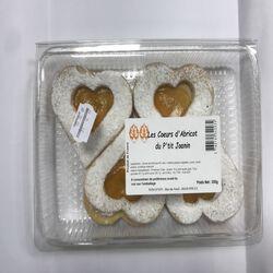 Les coeurs d'abricot du p'tit Joanin 4 pièces 300g