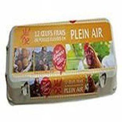 12 Oeufs Plein Air