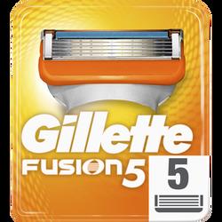 Rasoirs Lames fusion GILLETTE, x5