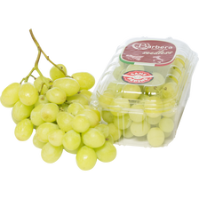 Raisin blanc seedless sugraone, BIO, sans pépin, catégorie 2, Italie,barquette 500g