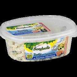Salade de tortis et concombre au saumon BONDUELLE, 300g