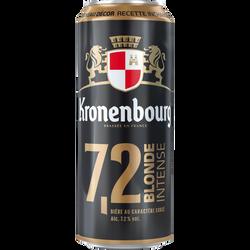 Bière blonde KRONENBOURG, 7,2°, 50cl