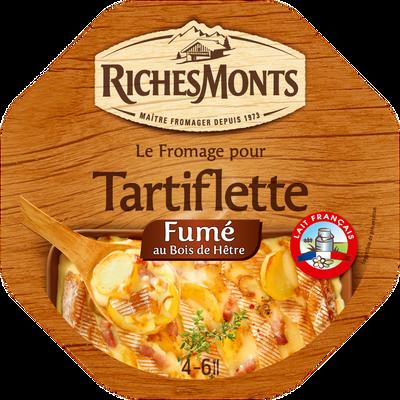 Fromage pasteurisé pour tartiflette fumé 28% de MG RICHESMONTS, 450G