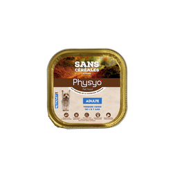PHYSYO, terrine chien adulte, 150g