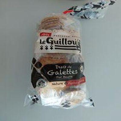 Duo de galettes pur BEURRE LE GUILLOU