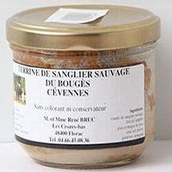 Terrine de sanglier sauvage du Bouges Cévennes, 180g