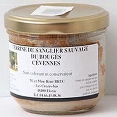 Terrine de sanglier sauvage aux châtaignes du Bougès Cévennes, 180g