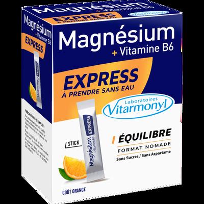 Magnésium et vitamine B6 express