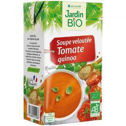 Soupe velouté Tomate Quinoa JARDIN BIO 1l
