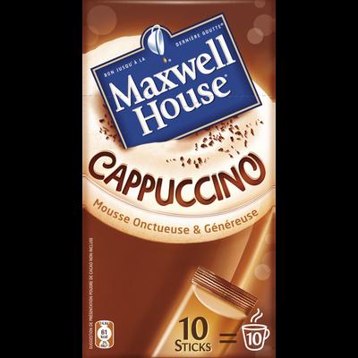 Café cappuccino, MAXWELL House, 148g