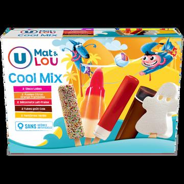 Lou Assortiment Glaces Cool Mix U Mat & Lou, X10 Soit 460g