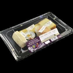 Assiette fromagère Bourgogne Franche-Comté, 260g