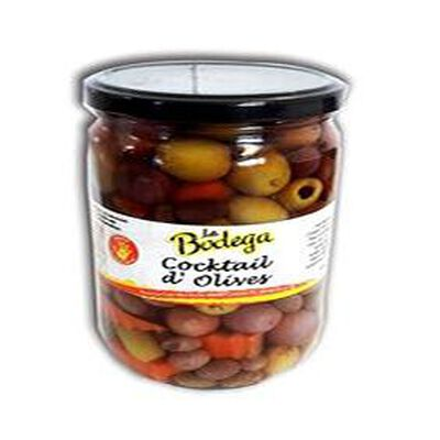 OLIVES COCKTAIL BOCAL  700G LA BODEGA