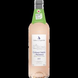 Vin rosé AOP Côteaux Varois Provence Celliers Des Espérides U, 75cl