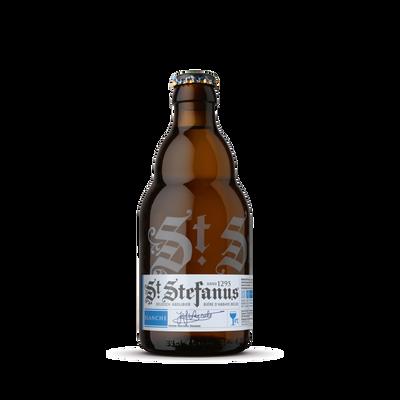 Bière blanche D'ABBAYE ST STEFANUS, 5° bouteille de 33cl