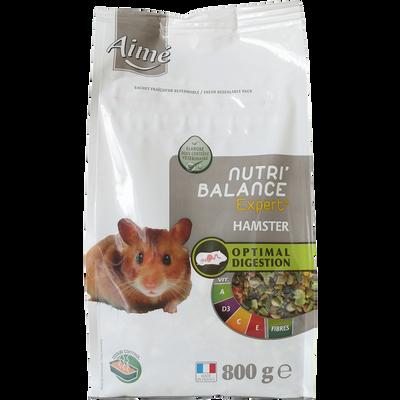 Mélange de granules pour hamster nutribalance expert, AIME, 800g