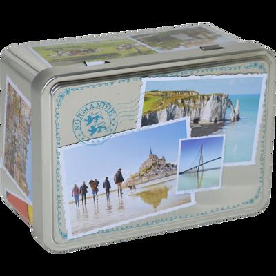 Sablés sucrette Normandie BISCUITERIE DE L'ABBAYE, boîte de 125g