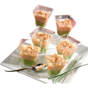 Mix Buffet Verrines Avocat Cocktail De Crevettes Mix Buffet 6x45g Pe