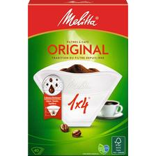 Filtres à café grand arôme original n°4 boîte MELITTA, boite de 100