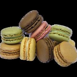 Macarons assortis, L'ATELIER GEORGET, 10 pièces, 100g