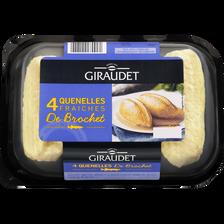 Quenelles de brochet GIRAUDET, 4 pièces, 320g