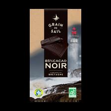 Chocolat noir 85% bio, tablette de 100g