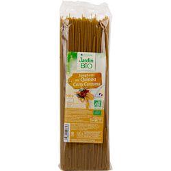 Spaghetti quinoa curry - Jardin bio