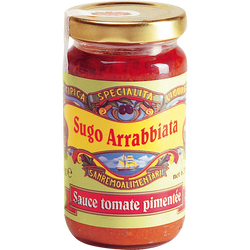 Sauce tomate pimentée, 180g